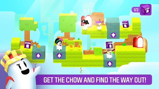 Ghost Game - Get the Chow! Screenshot