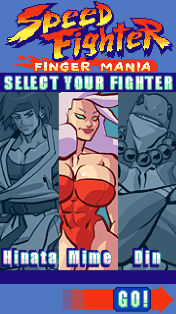 Speed Fighter Finger Mania- screenshot