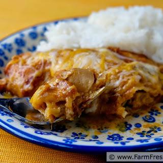 Turnip Enchiladas