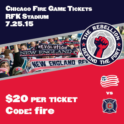 Chicago Fire Away game tickets - 7/25/15