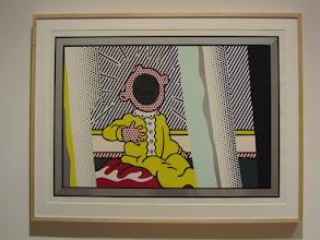 Photo: Edinburgh. Reflections on The Scream - Roy Lichtenstein