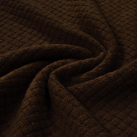Mosstickad Ull - brun
