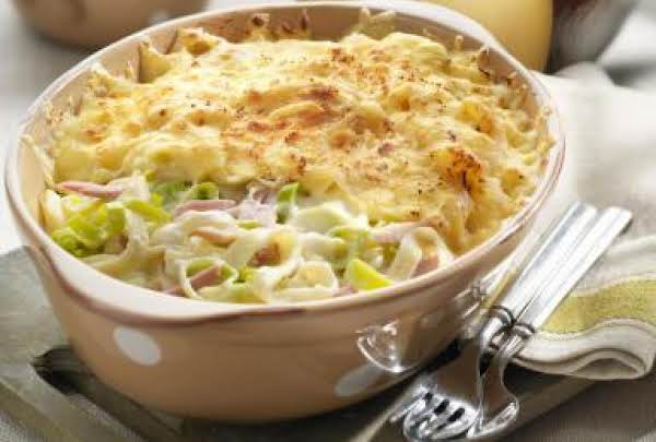 Ham Casserole With Noodles Recipe