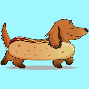 App Icon for DachMoji: Dachshund Emojis & Stickers App in Hong Kong Play Store