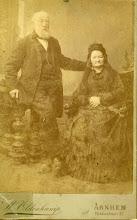 Photo: Herman Gijsbert Keppel Hesselink en Egberdina Anna Viëtor. Het zijn mijn betovergrootouders. De foto zal rond 1880 zijn genomen.