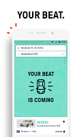 screenshot of Beat - Ride app
