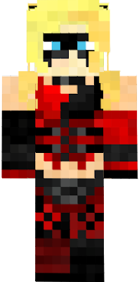 Harley Quinn Diamond Pattern Transparent