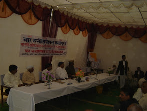 Photo: Dr. Adish C. Aggarwala being felicitated by Bar Association Kadipur, Sultanpur  on 6.11.2006