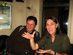 Photo: Tim, Dana, laughing