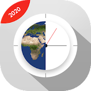 World Clock: All Countries Time & Photo Video Lock