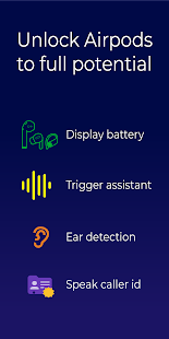 Assistant Trigger (Airpods battery & more) Screenshot