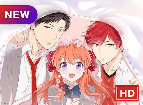 Monthly girls Nozaki-kun New Tab Page Themes