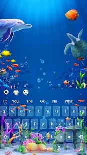 3D marine aquarium - náhled