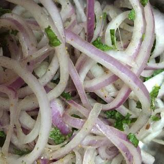 Onion Chat Masala Salad Recipe