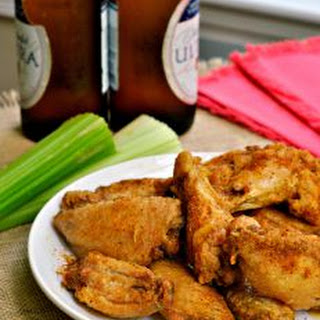 Crispy Baked Old Bay Wings.
