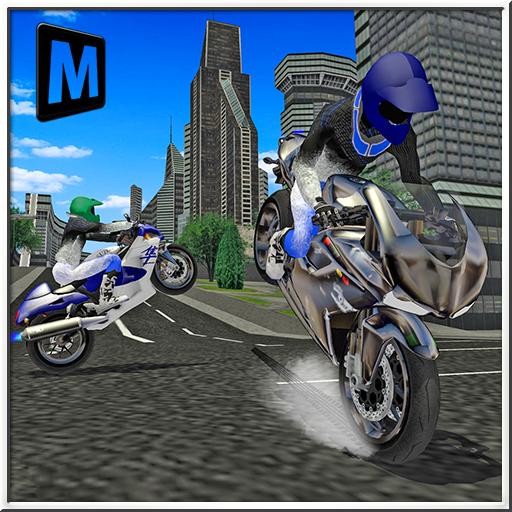 模拟の都市モトバイカー2016 LOGO-記事Game