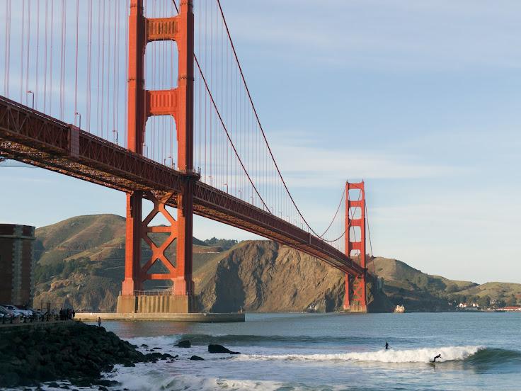 Golden Gate Bridge captured by a Light L16 camera.