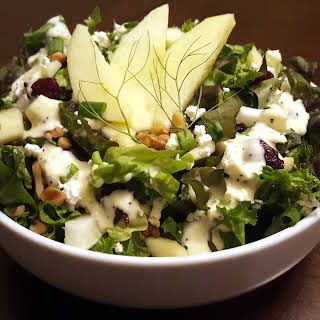 Apple Fennel & Walnut Salad.