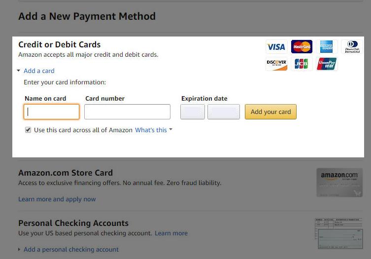 Sling TV Payment Method