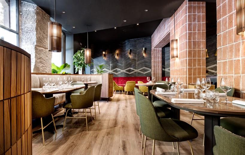Restaurante La Cabra, un espacio con diseño sobrio, cálido y versátil