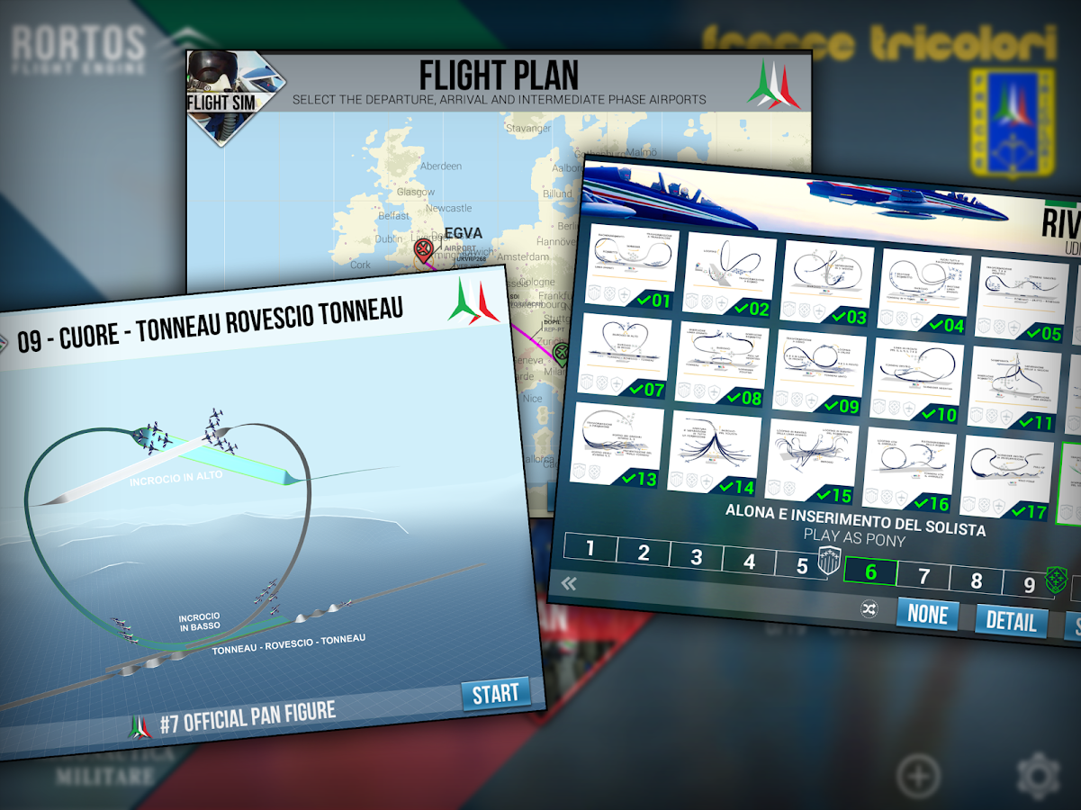Frecce Tricolori Flight Sim- screenshot