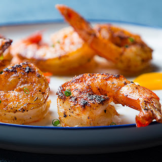 Chipotle Shrimp with Mango Sauce