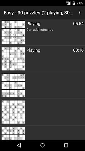 Open Sudoku screenshots 2