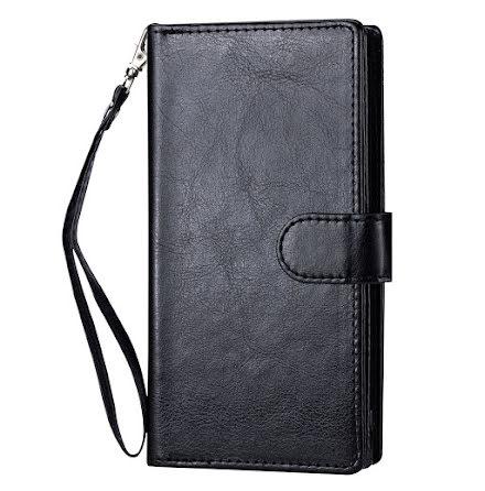 iPhone 12 - Praktiskt Robust 9-Korts Plånboksfodral