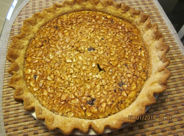 Cool pie on a cooling rack for about two hours or refrigerate until ready...