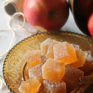 Spiced Cider Jelly Candies