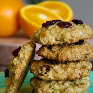 Healthy Citrus Oatmeal Cookies Recipe