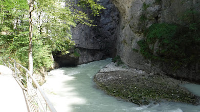 Photo: Szükül a kanyon... /Aareschlucht/