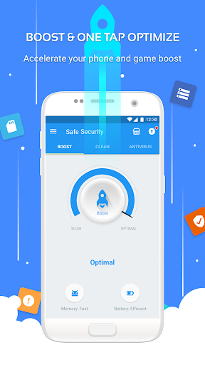 Safe Security -  Antivirus, Booster, Phone Cleaner screenshot 1