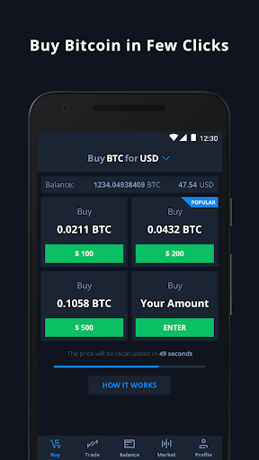 CEX.IO Bitcoin Exchange 5.3.8 app download 1