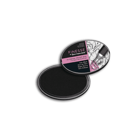 Spectrum Noir Inkpad Finesse Alcohol-Proof - Noir Black