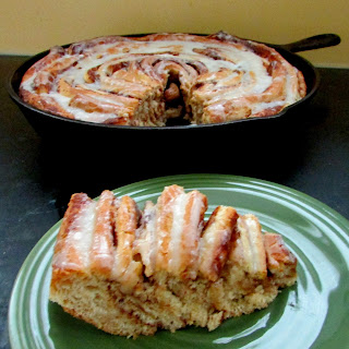 Whole Wheat Skillet Cinnamon Roll Recipe