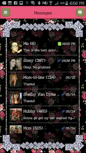 GO SMS - DivineDiamonds5