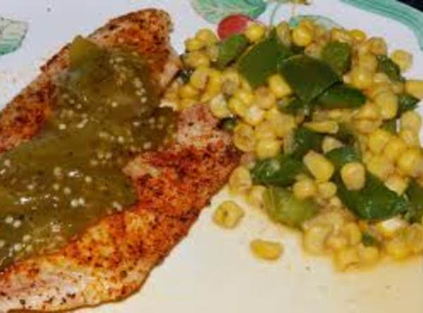 Fried Or Grilled  Fish With Tomatillo Sauce Recipe