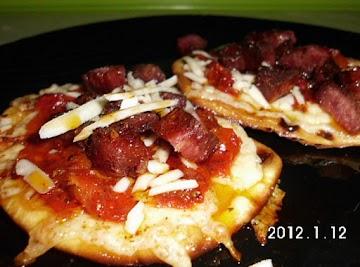 Italian Naan Sammie Recipe