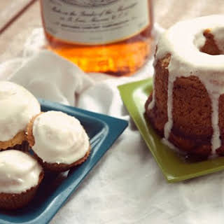 Southern Comfcakes (with honey cream cheese frosting).