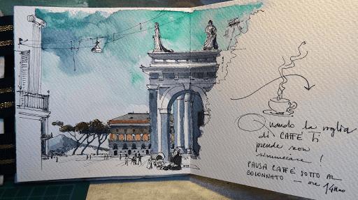 stage carnet de voyage Naples_ JEANNE PAPA
