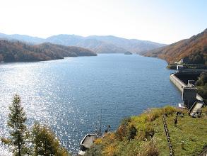 Photo: 展望臺から有峰湖