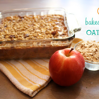 Baked Oatmeal with Apples & Cinnamon