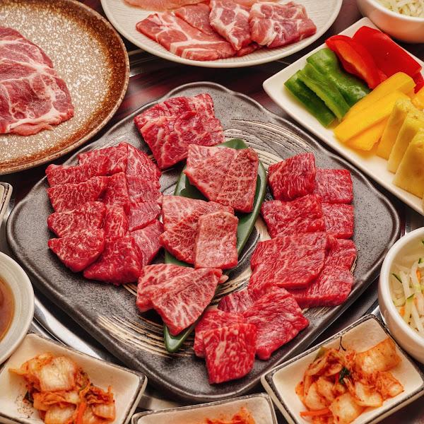 貴一郎和牛燒肉御膳 不用400元就能吃和牛燒肉套餐!cp值超高的台南燒肉