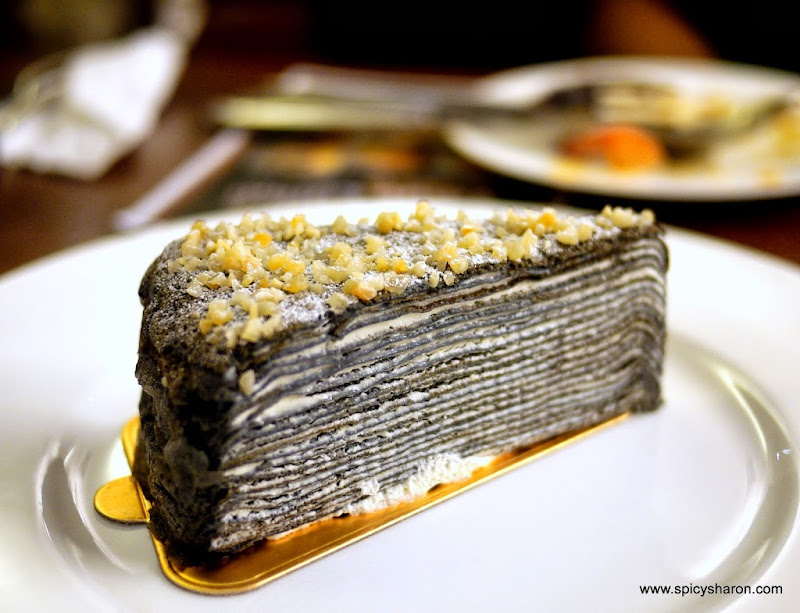 Charcoal Cake Recipe