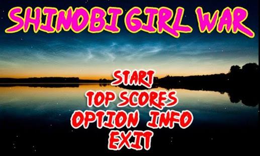 Shinobi Girl Adventure apk screenshot 1