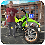 Stunt Bike Racing 3D Icon