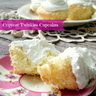Copycat Twinkie Cupcakes