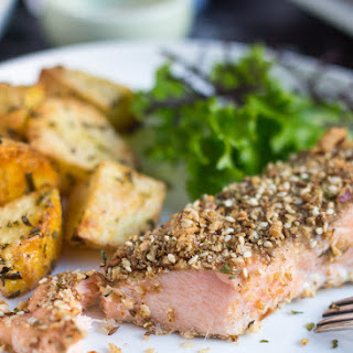 Crusted Salmon Fillet Baked Recipes