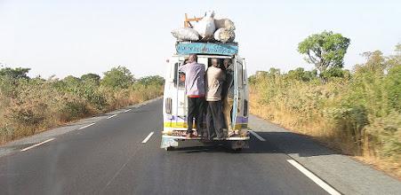 Photo: transport w Afryce Zachodniej